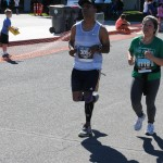 First Marathon Near Finish